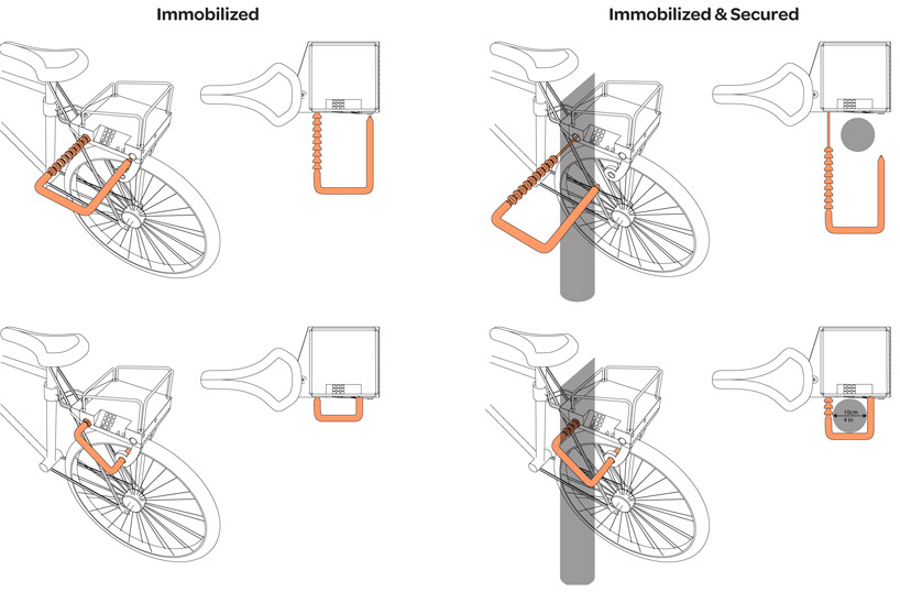 bike lock diagram