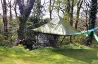 tentsile - a hammock style tent suspended from trees by ...