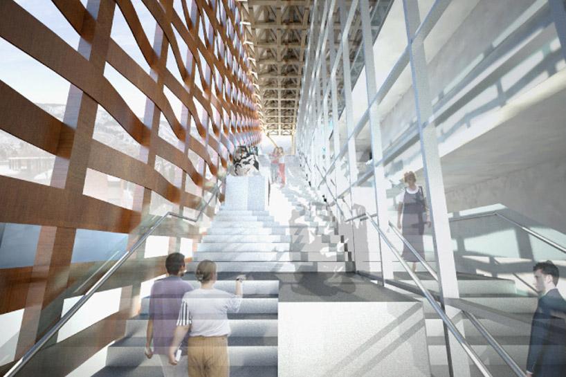 Shigeru Ban Aspen Art Museum Nearing Completion