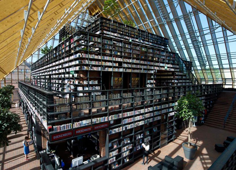 MVRDV: book mountain + library quarter, spijkenisse