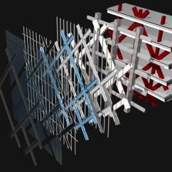 Exploded Axon Diagram Aluminum Element Oma: Cctv Headquarters Now Complete
