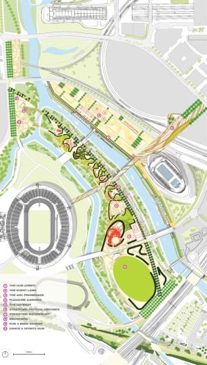 james corner field operations: queen elizabeth olympic park