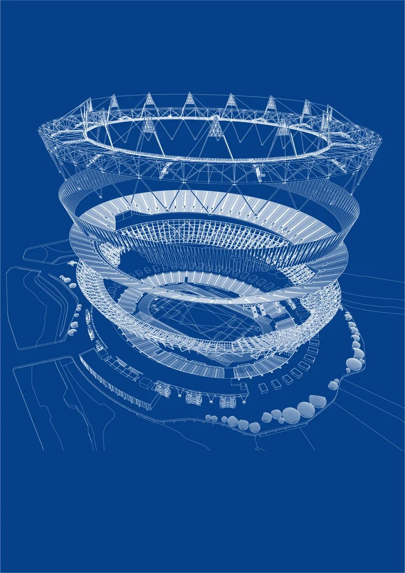 track and field diagram vauxhall astra j stereo wiring olympic stadium for london 2012 by populous