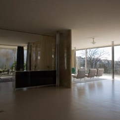 Living Room Buffet Cabinet Setup Ideas With Fireplace Mies Van Der Rohe: Villa Tugendhat