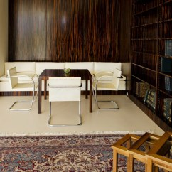 Two Chair Dining Table Impact X Rocker Mies Van Der Rohe: Villa Tugendhat