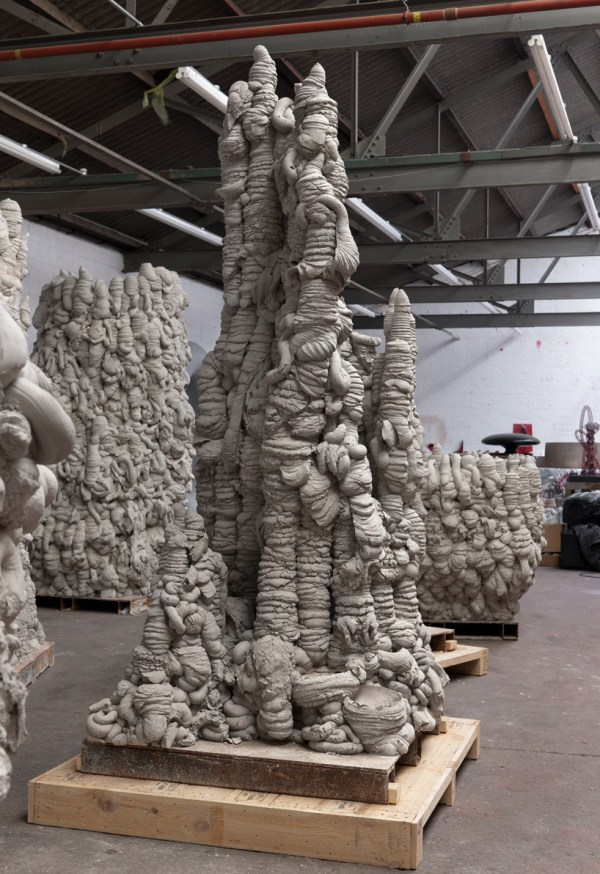 Anish Kapoor Concrete Coils Gladstone York