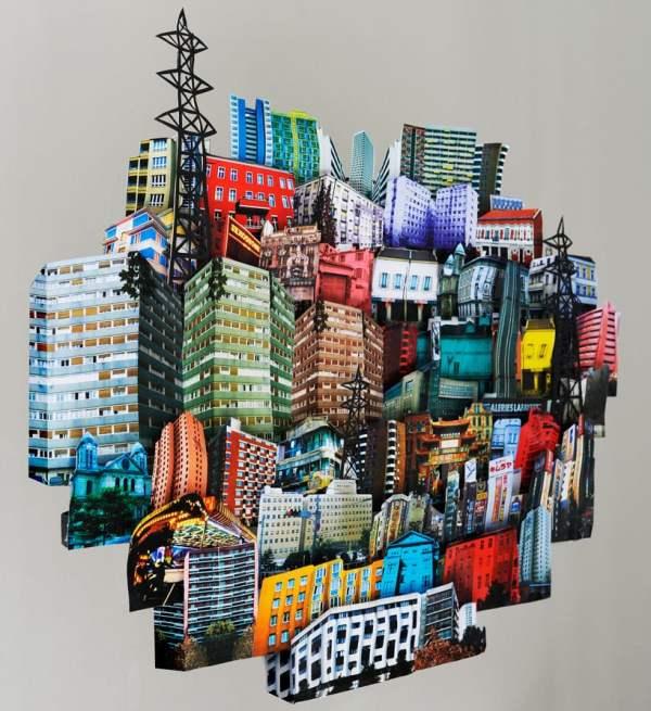 Paper Architecture Exhibition In Paris