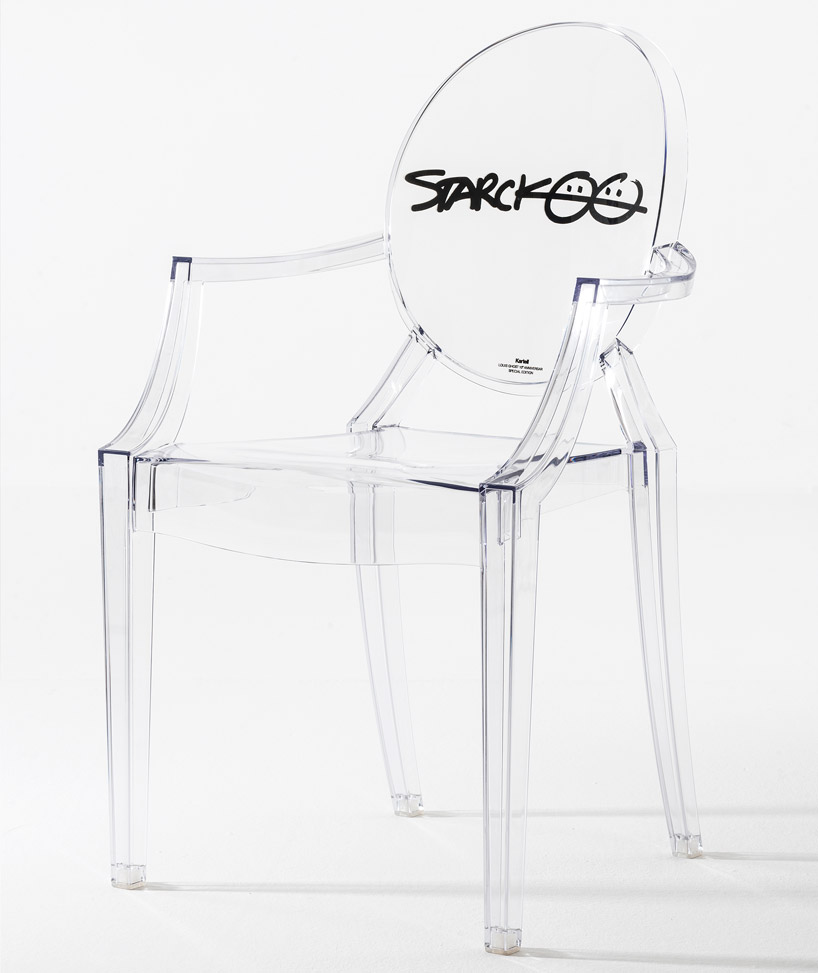 kartell celebrates 10th anniversary of philippe starcks louis ghost chair