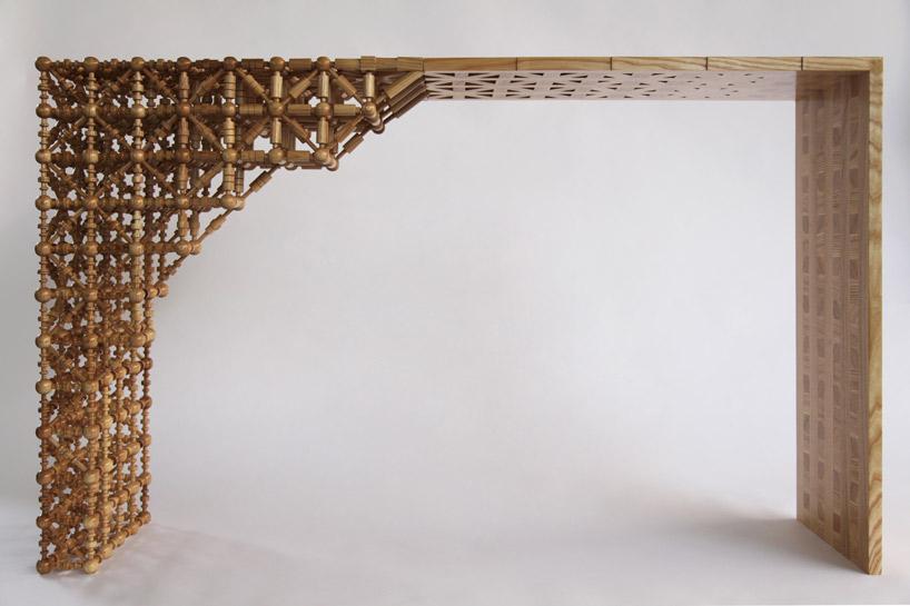 mischertraxler gradient mashrabiya table