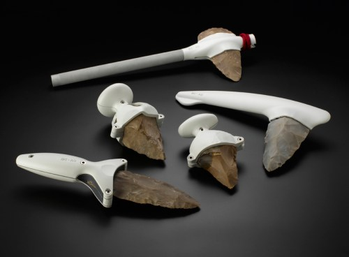 Modern flint tools