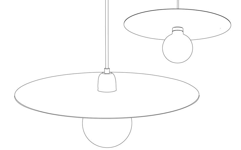 kaschkasch cologne: flachmann pendant lamp