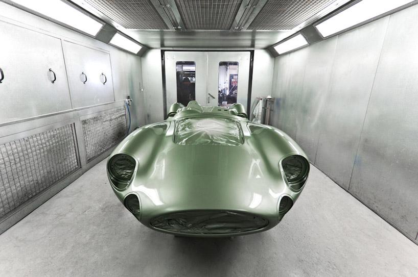 1959 aston martin DBR1 11 scale le mans replica by evanta
