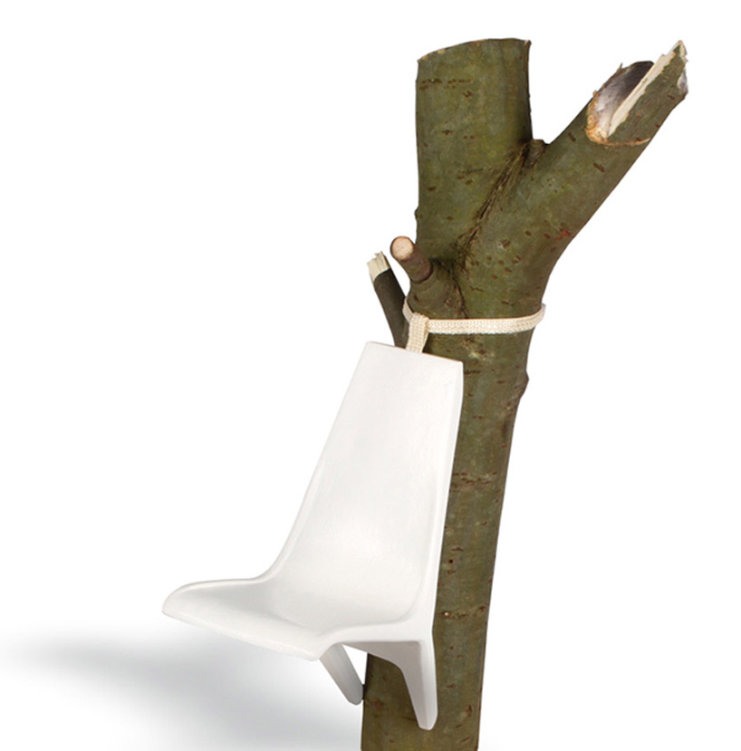 hello kitty chairs wheelchair yoga videos somnio suspended tree trunk by frederic julian rätsch