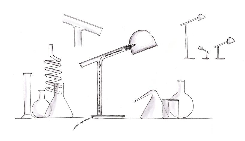 chemistry instruments inform test tube labo lamps for penta