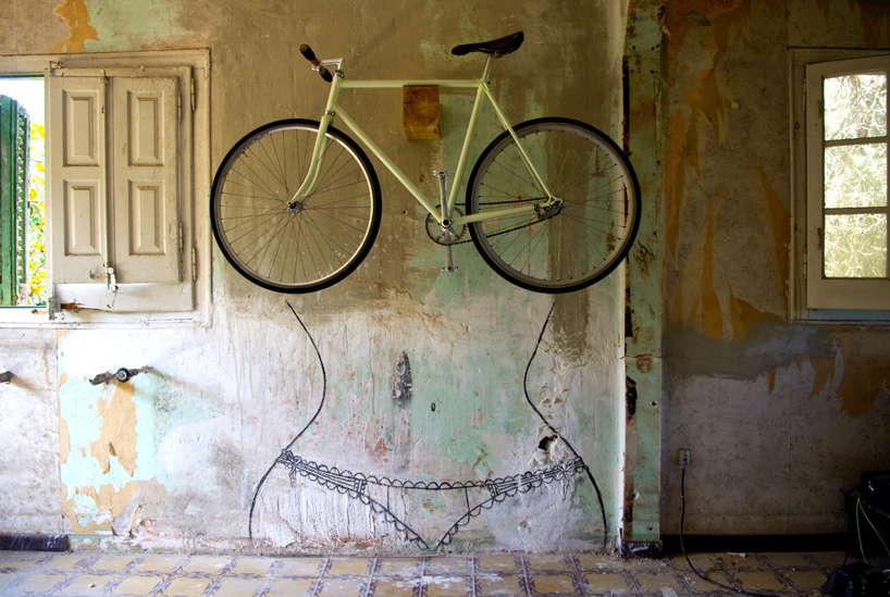 pin up your bike storage wall mounts by woodloops