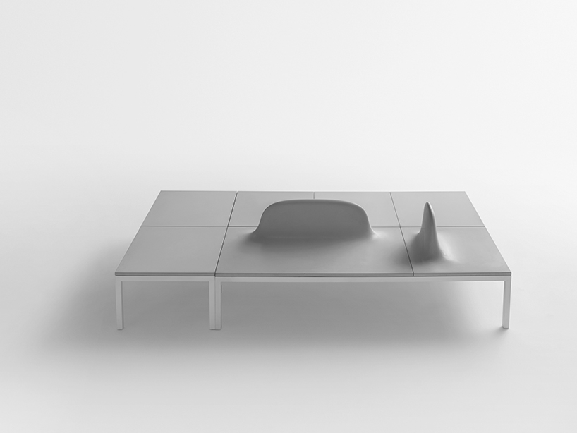 Shiro Studios Uluru Collection Concrete Modular Benches