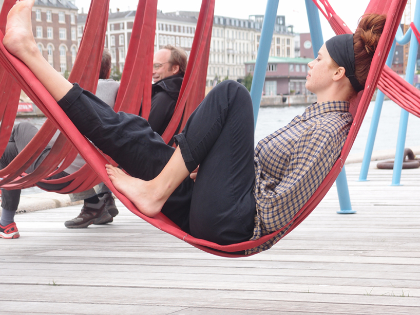 off ground  playful seating elements for public spaces