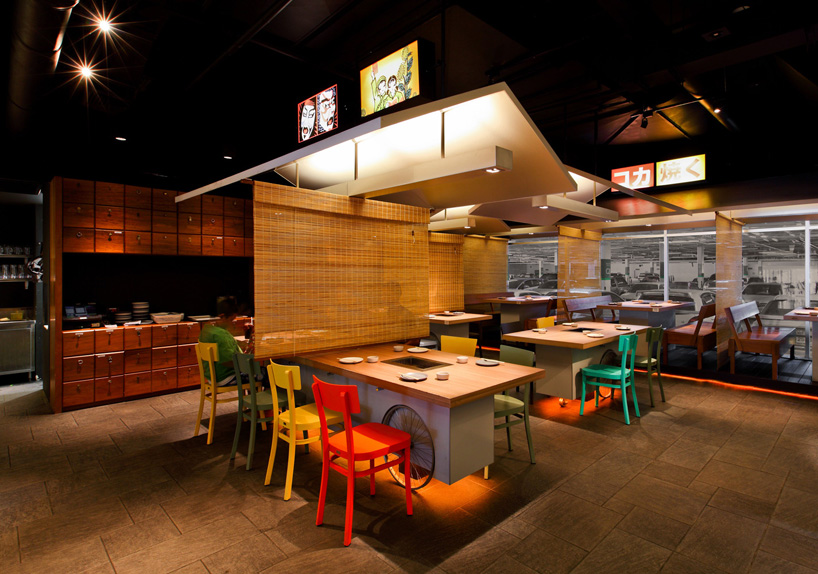 coca grill restaurant reflects thai street food culture