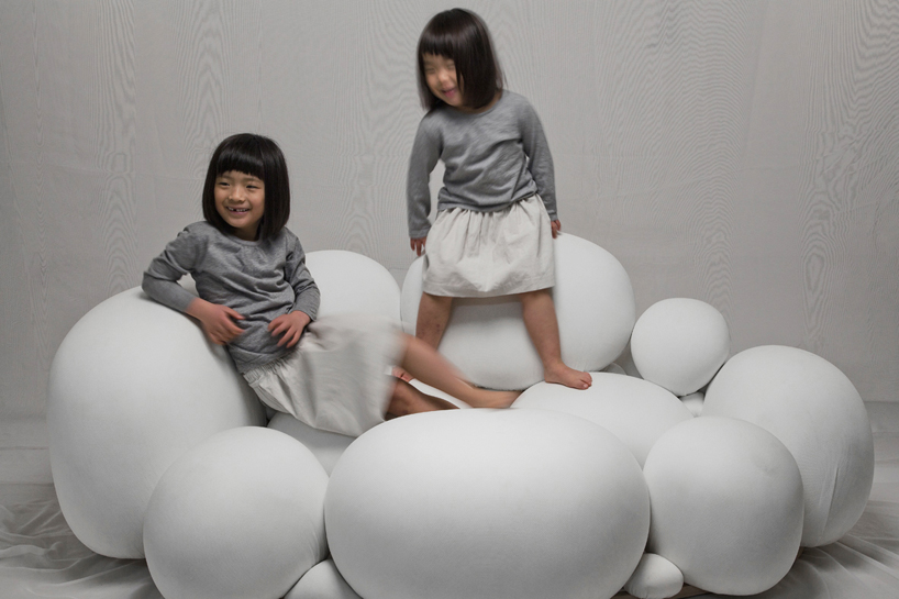 marshmallowlike sofa by kei harada
