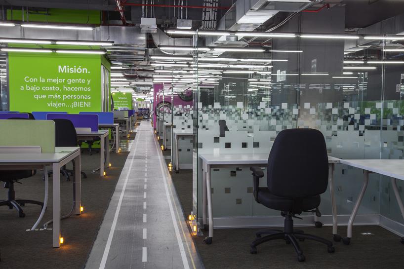 volaris headquarters interior by SPACE architecture