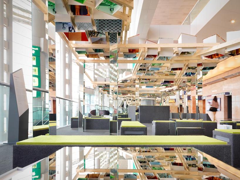 interactive design lounge at art basel hong kong by swire