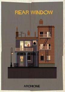 Federico Babina Illustrates Iconic Film Buildings In Archicine