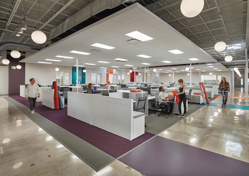 stantec turns warehouse into valley forge fabrics headquarters