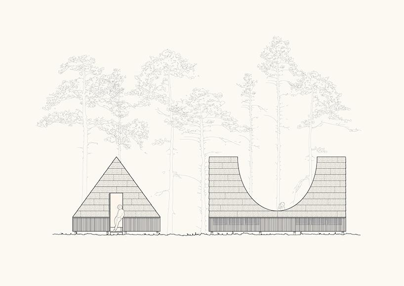 white arkitekter's award-winning 'network of moles' guides