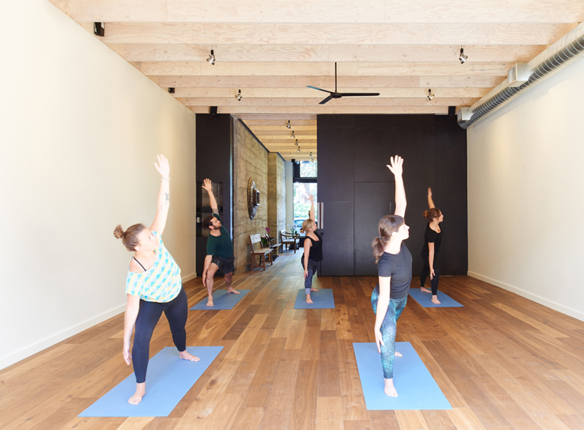 goCstudio creates naturalistic ritual house yoga studio