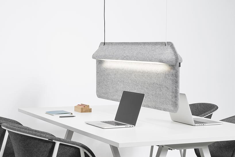 AK 2 workspace divider lamp by ivan kasner  uli budde