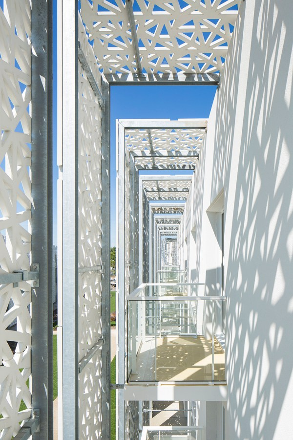 Jacques Ferrier Architectures Adds Double Faade Hotel