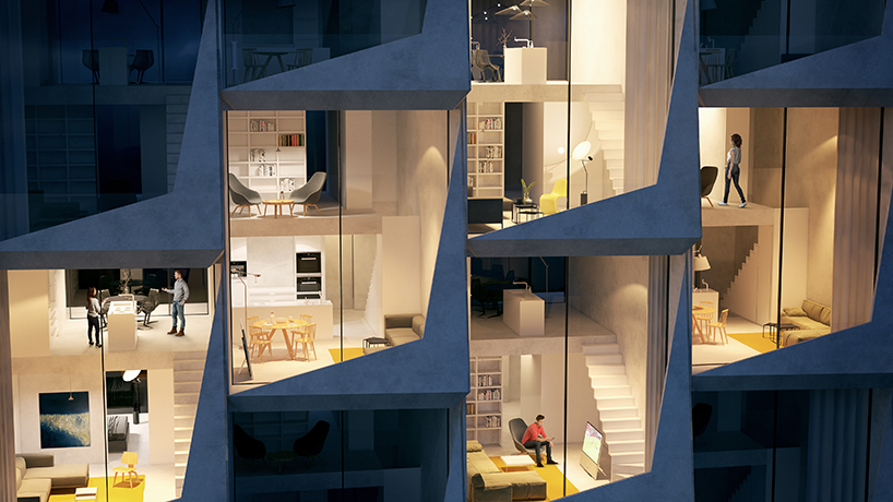 Peter Pichler S Looping Towers Will Act As A Residential