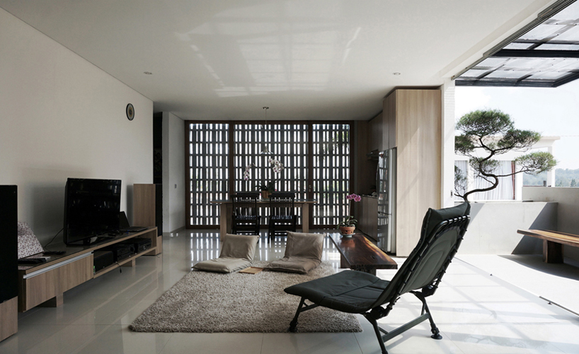 eben architects creates flexible minimax house in lembang