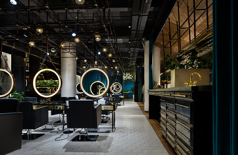 S5 design creates a moody punk interior for barber shop in