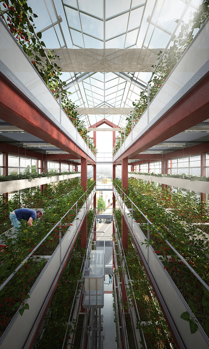 ilimelgo architects vertical farm grand paris designboom