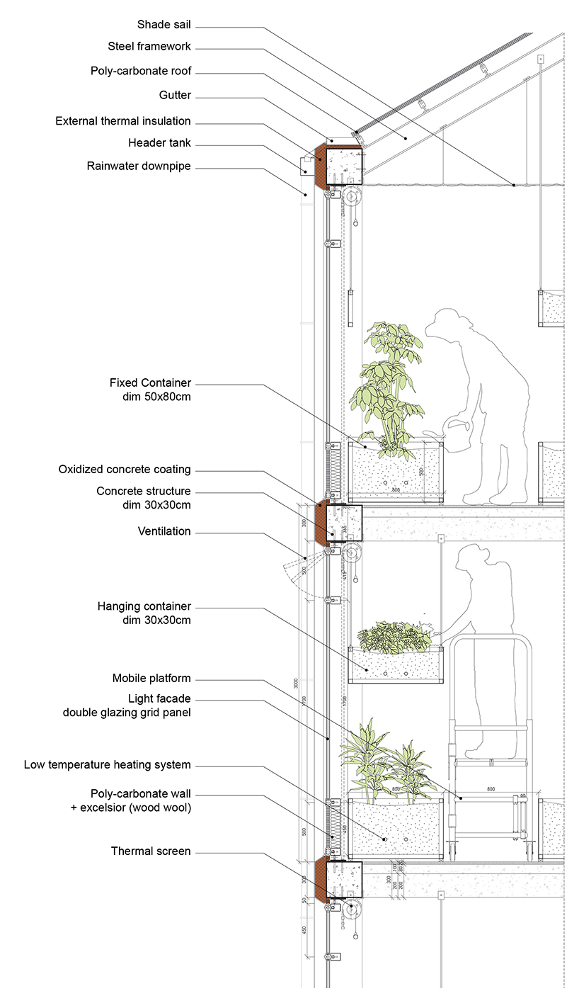 ilimelgo architects vertical farm grand paris designboom