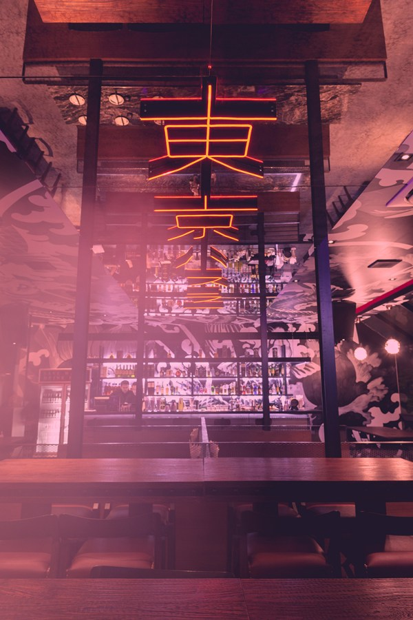 Phtaa Living Design' Tokyo Hustler Restaurant