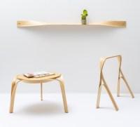 bar gantz transforms steam-bent + twisted wood into home ...
