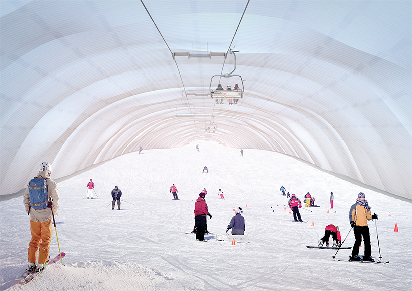 proposal for indoor skiing facility in turin establishes