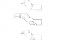 alphaville twists angular house through osaka neighborhood