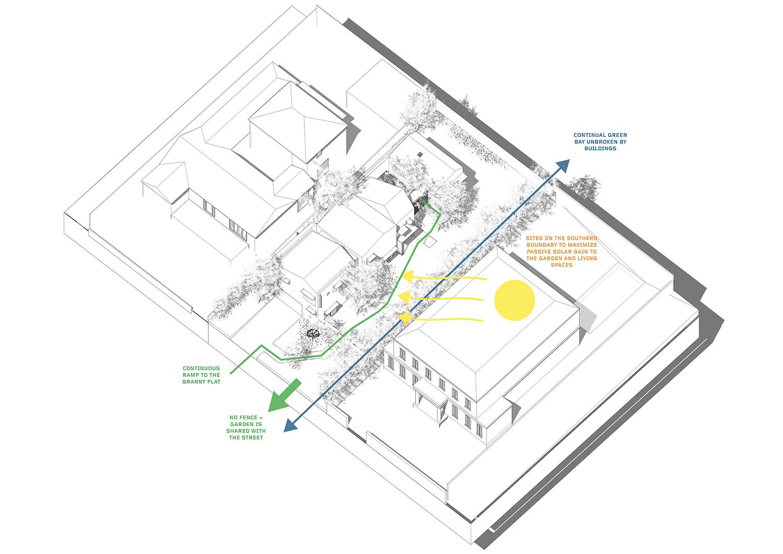 austin maynard architects clads 'charles house' with slate