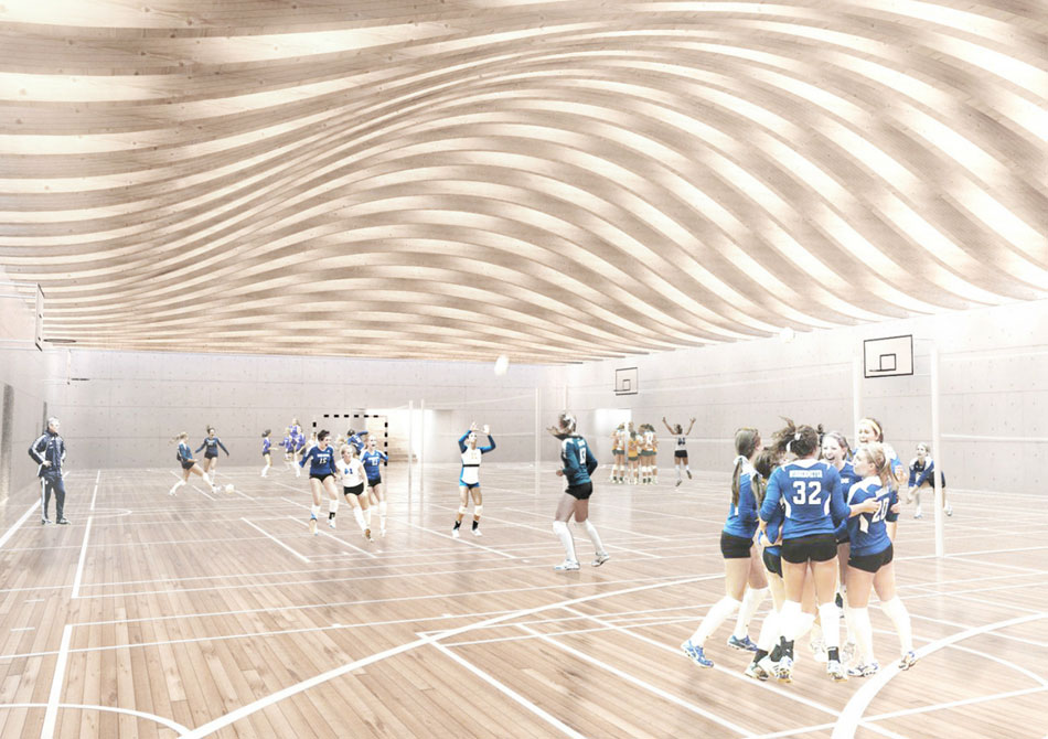 BIG architects gammel hellerup gymnasium