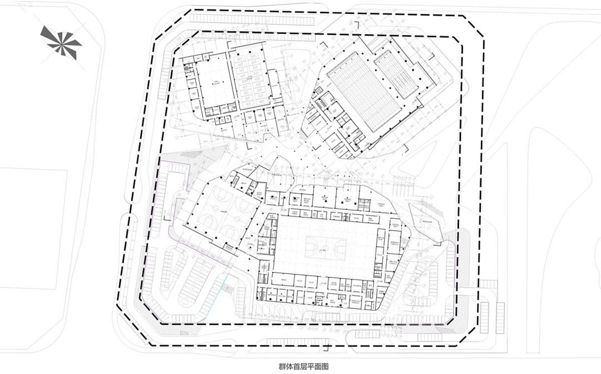 DUO decode urbanism office: beijiao sports center