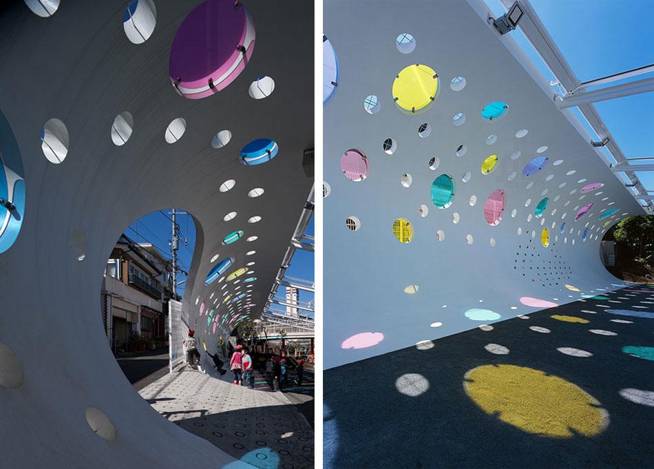 etre design: playground for machida kobato kindergarden