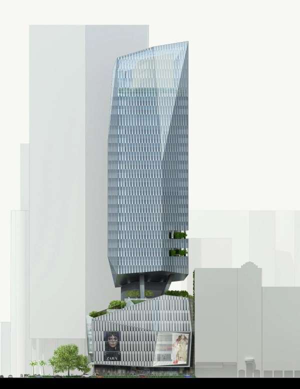 Kpf' Robinson Tower Promotes 'sustainable Urbanism' In