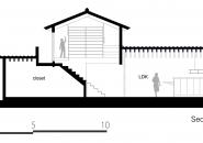 dai nagasaka's house in nijyooji features oversized gabled