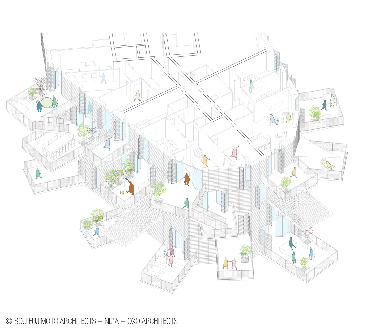 Sou Fujimoto To Construct Second Architectural Folly Of