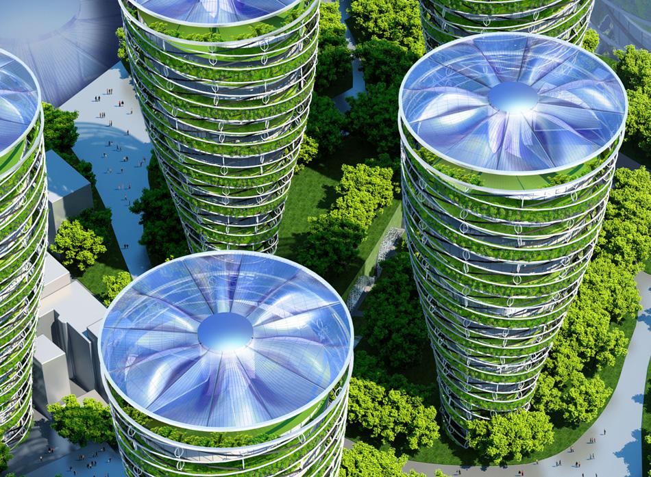 vincent callebaut architectures paris smart city 2050 designboom