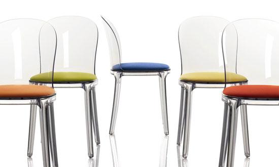 stefano giovannoni murano vanity chair  table for magis