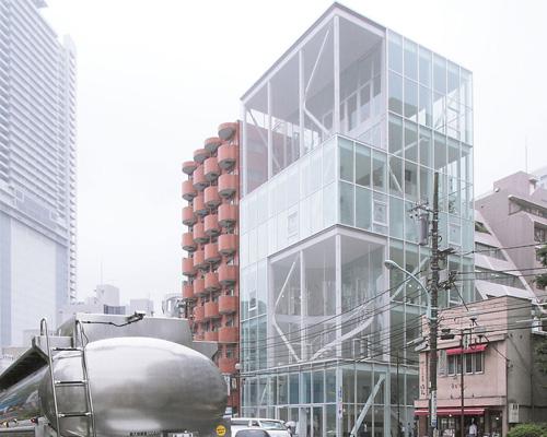 kazuyo sejima shibaura house office building tokyo